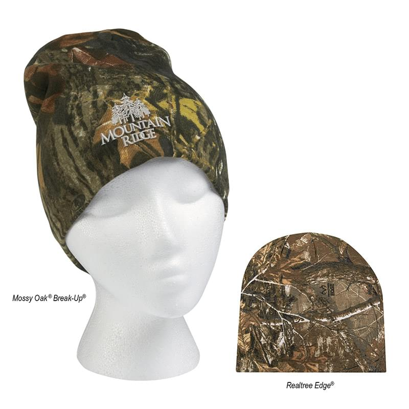 Realtree And Mossy Oak Camouflage Beanie