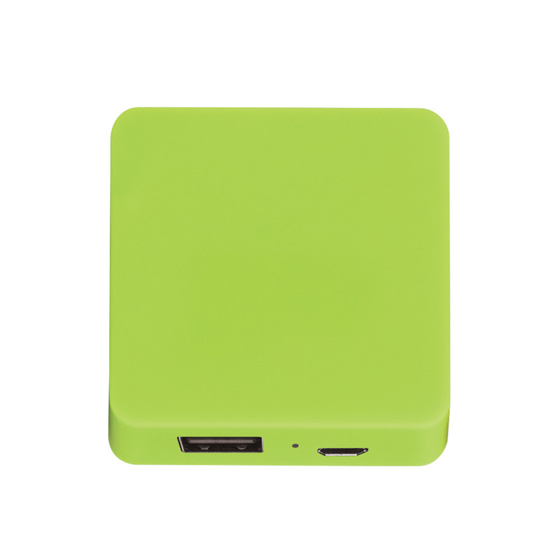 UL Listed Power Bank With Rubber Finish