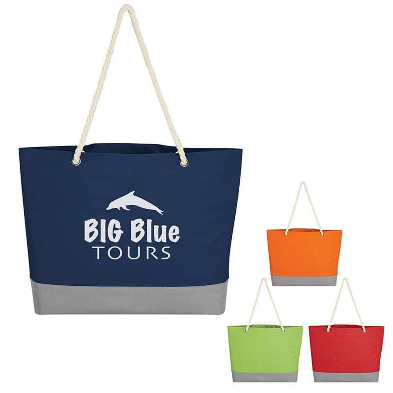 Boca Tote Bag With Rope Handles
