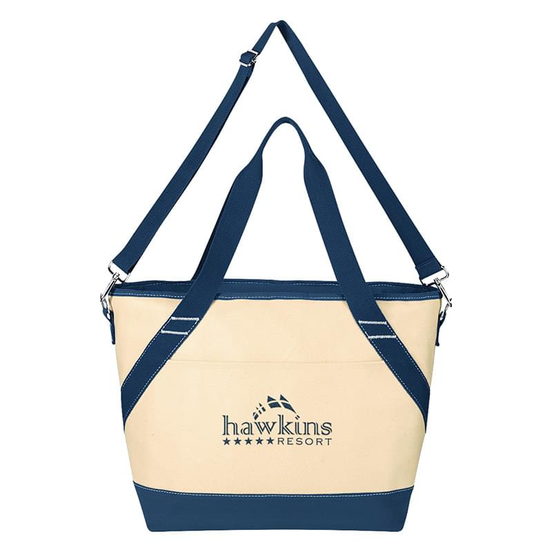 Canvas Kooler Tote Bag