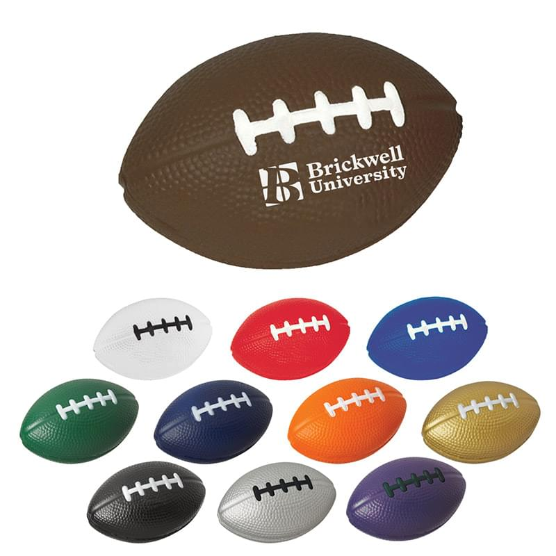 Football Shape Stress Reliever