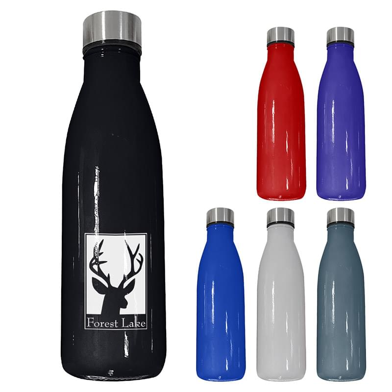 21 Oz. Glass Swiggy Bottle