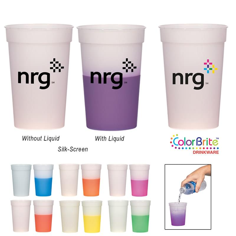 17 Oz. Color Changing Stadium Cup
