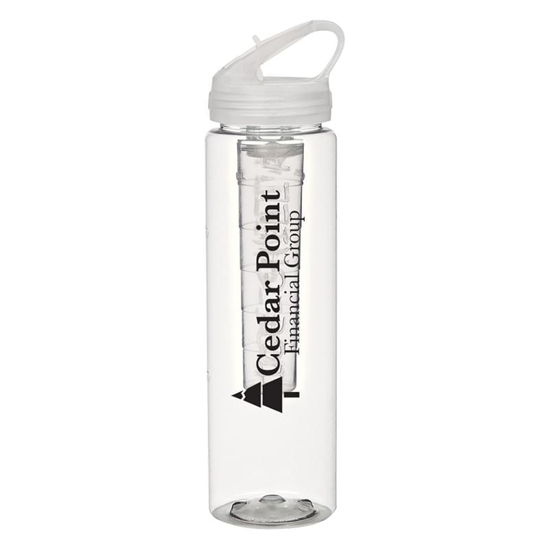 32 Oz. Poly-Clean Sports Bottle With Ice Infuser