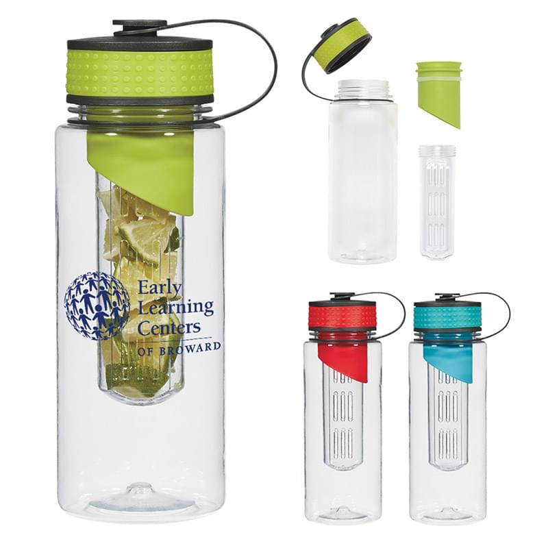 28 Oz. Tritan™ Water Bottle With Infuser
