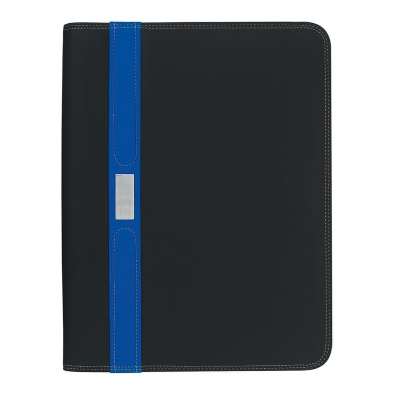 "Contemporary 8 ½"" x 11"" Zippered Portfolio"