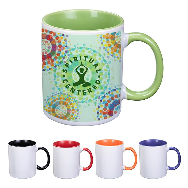 11 Oz. Dye Blast Full Color Mug