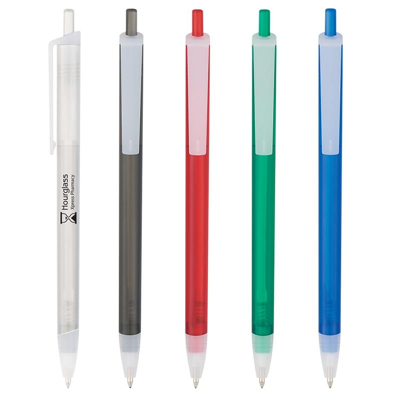 Slim Click Translucent Pen