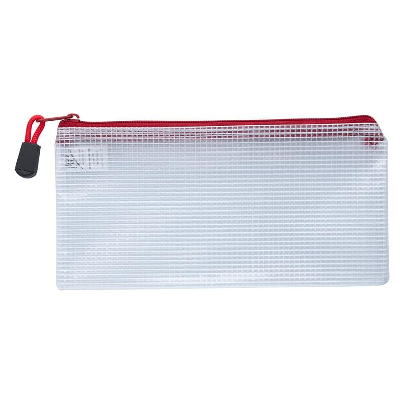 Clear Zippered Pencil Pouch