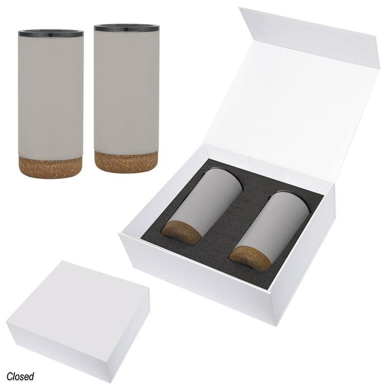 16 Oz. Wellington Stainless Steel Tumbler Gift Set