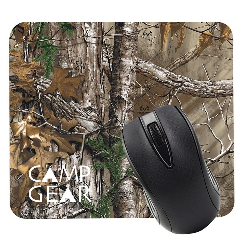 Realtree® Dye Sublimated Computer Mouse Pad