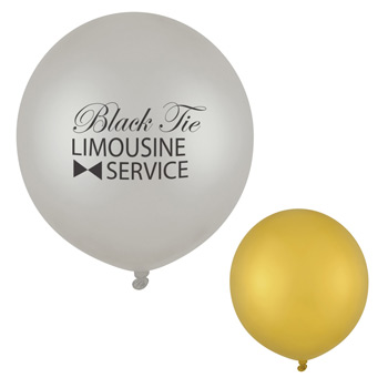 "24"" Metallic Tuf-Tex Balloon"