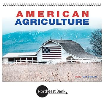 2019 American Agriculture Wall Calendar - Spiral