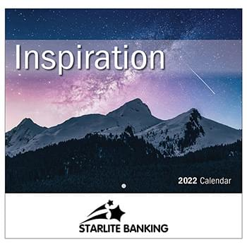 2019 Inspiration Wall Calendar - Stapled