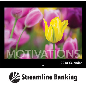 2018 Motivations Wall Calendar - Stapled