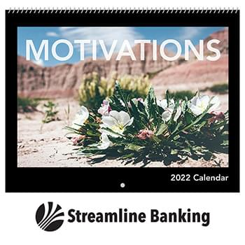 2019 Motivations Wall Calendar - Spiral
