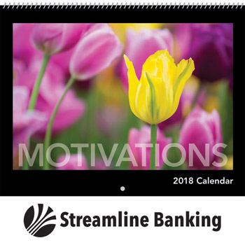 2018 Motivations Wall Calendar - Spiral