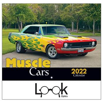 2019 Muscle Cars Wall Calendar - Stapled
