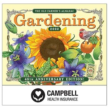 2019 The Old Farmer's Almanac Gardening Wall Calendar - Stapled