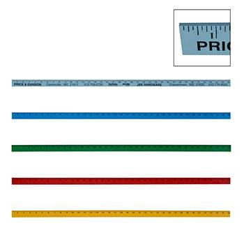 Colorful Enameled Yardstick