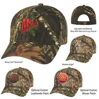 Realtree And Mossy Oak Hunter's Retreat Camouflage Cap
