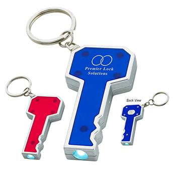 Key Shape LED Key Chain