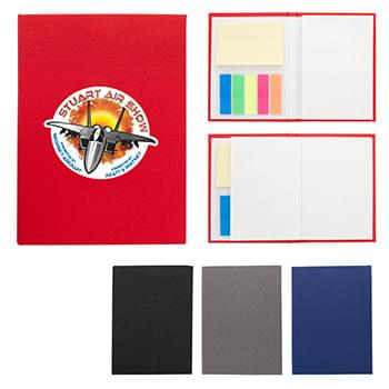 "3 "" x 5"" Jotter With Sticky Notes And Flags"