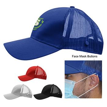Cotton Twill Mesh Back Mask Cap