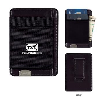 AWS Executive RFID Money Clip Card Holder
