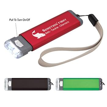 Aluminum Flashlight With Strap