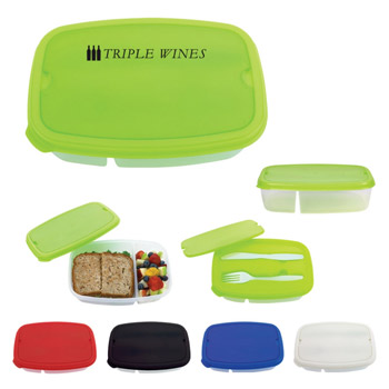 2-Section Lunch Container