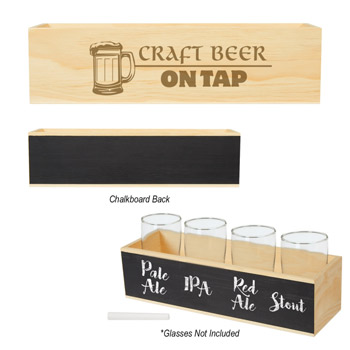 Chalkboard Flight Crate