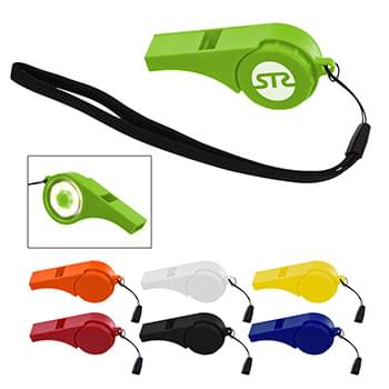 Safety Whistle With Light
