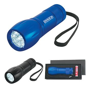 Aluminum LED Torch Light With Strap