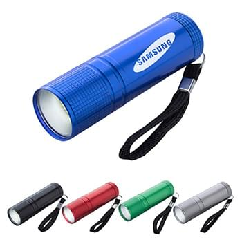 COB Pocket Flashlight With Strap