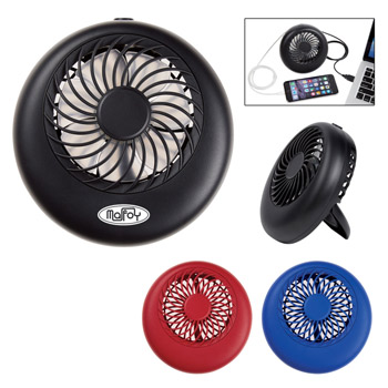 2-In-1 Power Bank With Personal Fan