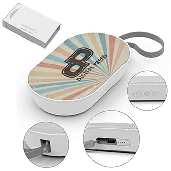 Concerto Speaker And Power Bank