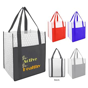 Boutique Non-Woven Shopper Tote Bag