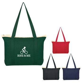 Cotton Shoulder Tote Bag