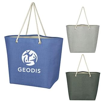 Peddler Jute Tote Bag