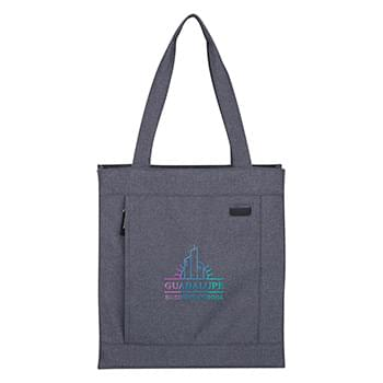 Hidden Zipper Tote Bag