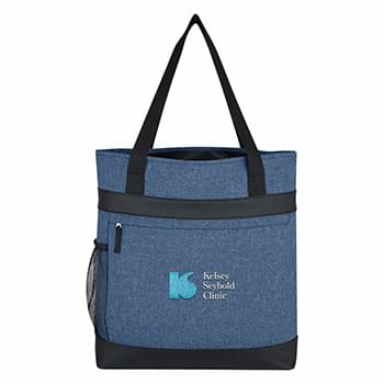 Hidden Zipper Outing Tote Bag