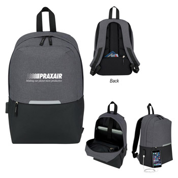 Computer Backpack With Charging Port