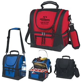 Dual Compartment Kooler Bag