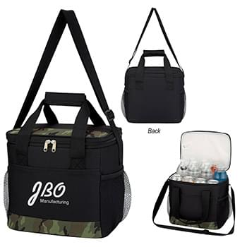 Camouflage Accent Kooler Bag