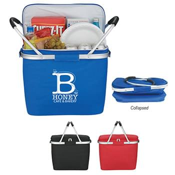 Picnic Fun Collapsible Kooler Basket