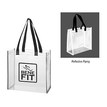 Clear Reflective Tote Bag