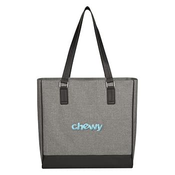 Classy Heathered Tote Bag