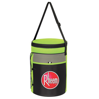 Cylindrical Insulated Kooler Bag