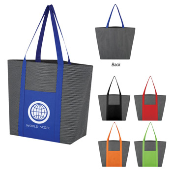 Honeycomb Mesh Non-Woven Tote Bag